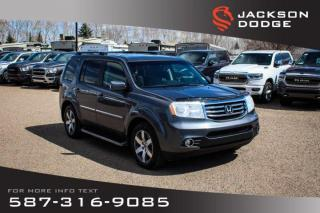 Used 2012 Honda Pilot Touring - DVD, NAV, Sunroof for sale in Medicine Hat, AB