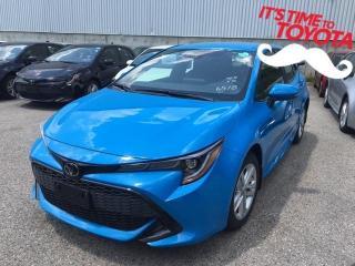 New 2020 Toyota Corolla Hatchback CVT SE for sale in Mississauga, ON
