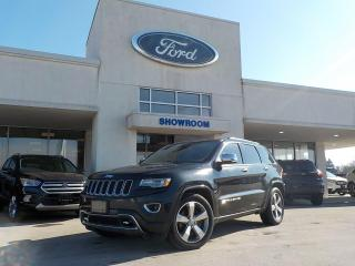 Used 2014 Jeep Grand Cherokee Overland for sale in Mount Brydges, ON
