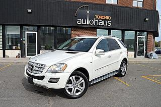 Used 2011 Mercedes-Benz ML-Class Navigation,Blind Spot Sensors, Leather ML 350 BlueTEC for sale in Concord, ON