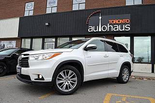 Used 2015 Toyota Highlander HYBRID XLE/NAVIGATION/LEATHER/SUNROOF XLE for sale in Concord, ON
