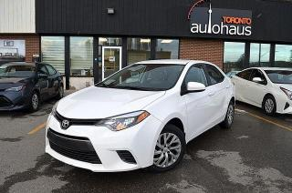 Used 2016 Toyota Corolla/HEATED SEATS/REAR CAMERA LE for sale in Concord, ON