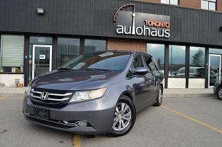 Used 2014 Honda Odyssey EX-L/LEATHER/SUNROOF/NAVIGATION/LDW EX-L w/Navi for sale in Concord, ON