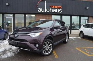 Used 2016 Toyota RAV4 LIMITED/AWD/NAVI/CAM/LEATHER/SUNROOF Limited for sale in Concord, ON