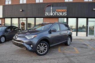 Used 2016 Toyota RAV4 Hybrid Limited/NAVI/BSM/LEATHER/ROOF/AWD for sale in Concord, ON