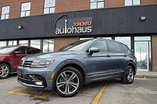 Used 2018 Volkswagen Tiguan R-Line/NAVI/BSM/LDW/ACC/LEATHER/PANO Highline for sale in Concord, ON