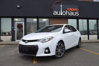 Used 2015 Toyota Corolla S/SUNROOF/CAMERA/HTD SEATS S,S for sale in Concord, ON