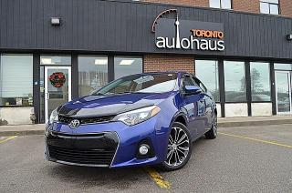 Used 2014 Toyota Corolla Sport/CAM/HTD SEATS/SUNROOF/NO CLAIMS S,S for sale in Concord, ON