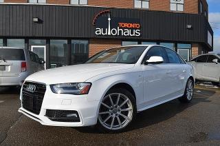 Used 2016 Audi A4 S-LINE/NAVI/CAM/LEATHER/SUNROOF Progressiv plus for sale in Concord, ON