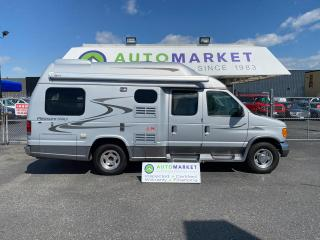 Used 2007 Ford Econoline PLEASUREWAY CAMPER VAN! FULL LOAD! BATHROOM W/SHOWER & ROOF AIR! FREE BCAA! for sale in Langley, BC
