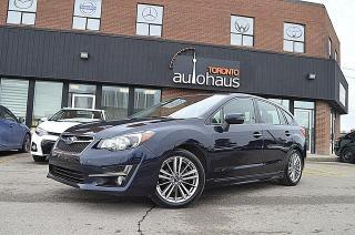 Used 2015 Subaru Impreza NAVI/LEATHER/SUNROOF/CAMERA/AUTO 2.0i w/Limited & Tech Pkg for sale in Concord, ON