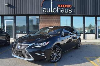 Used 2018 Lexus ES 300 h NAVI/BSM/LDW/SUNROOF/CAMERA for sale in Concord, ON