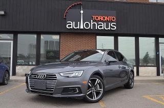 Used 2017 Audi A4 TECHNIK/BSM/NAVI/HUD/LDW/CAM/AWD Technik for sale in Concord, ON