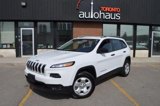 Used 2014 Jeep Cherokee 4WD/POWER OPTIONS/NO ACCIDENTS Sport for sale in Concord, ON