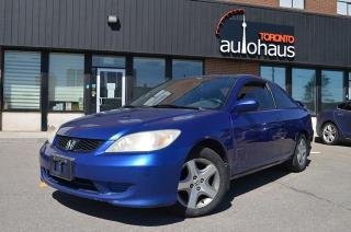Used 2004 Honda Civic COUPE/AUTO/POWER OPTIONS/SOLD AS-IS SiR for sale in Concord, ON
