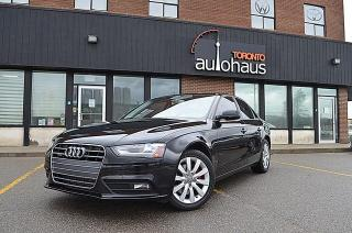 Used 2013 Audi A4 AWD/LEATHER/SUNROOF/HTD SEATS/LOADED for sale in Concord, ON