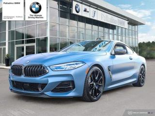 New 2019 BMW 8 Series M850i xDrive/First Edition Package/Frozen Barcelona Blue Metallic for sale in Sudbury, ON