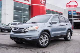 Used 2011 Honda CR-V EX  4WD Z2162A TQ   BLEU for sale in Terrebonne, QC
