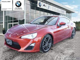 Used 2016 Scion FR-S 6SP - STYLE & PERFORMANCE, MANUAL TRANSMISSION w/ BACKUP CAM for sale in Sudbury, ON
