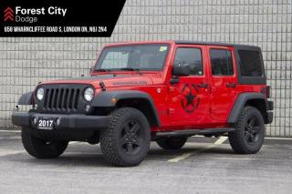 Used 2017 Jeep Wrangler Unlimited AUTOMATIC | 4X4 | BLUETOOTH | BIG BEAR PACKAGE | SIRUSXM for sale in London, ON