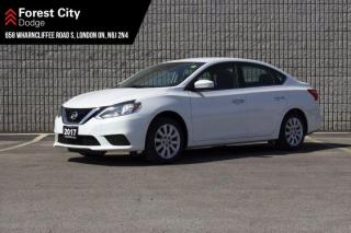 Used 2017 Nissan Sentra AUTOMATIC | AIR CONDITIONING | POWER WINDOWS | POWER LOCKS | FWD for sale in London, ON