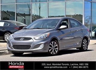 Used 2015 Hyundai Accent SE AUTO BAS KM 8 PNEUS AUTO AC TOIT OUVRANT MAGS BLUETOOTH++ for sale in Lachine, QC