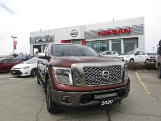 Used 2017 Nissan Titan Platinum Reserve for sale in Timmins, ON