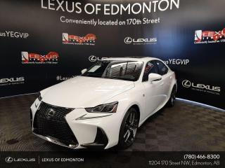 New 2020 Lexus IS 350 F Sport Series 3 for sale in Edmonton, AB