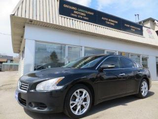 Used 2014 Nissan Maxima 3.5 SV, LEATHER, SUNROOF, NAVI, BACK UP CAMERA for sale in Mississauga, ON