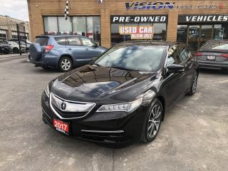 Used 2017 Acura TLX 4dr Sdn SH-AWD V6 Tech-NAVI-LANE DEPARTURE for sale in North York, ON