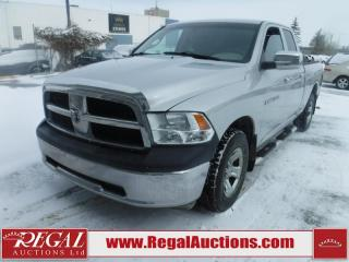 Used 2012 RAM 1500 SXT QUAD CAB SWB 4.7L for sale in Calgary, AB