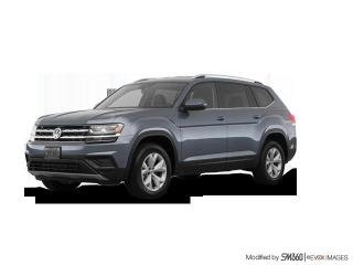 New 2019 Volkswagen Atlas Trendline 3.6L 8sp at w/Tip 4MOTION for sale in Owen Sound, ON