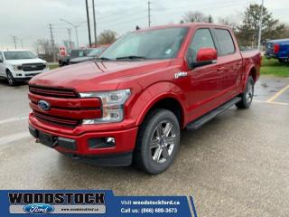 New 2020 Ford F-150 Lariat  502A, 2.7, TWIN PANEL MOONROOF, FX4 for sale in Woodstock, ON