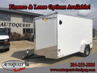 Used 2021 Stealth Cargo Trailer 6' x 12' V-Nose for sale in Winnipeg, MB