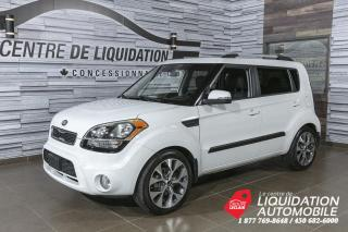 Used 2013 Kia Soul 4UMAGS+TOIT/OUV+A/C+CAM/REC++BLUETOOTH for sale in Laval, QC