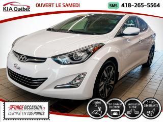 Used 2015 Hyundai Elantra LIMITED* GPS* CUIR* TOIT* CAMERA* for sale in Québec, QC