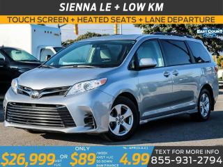 Used 2018 Toyota Sienna LE| LOW KM| SCREEN| REMOTE CTRL REAR DOORS|AUTO TEMP for sale in Scarborough, ON