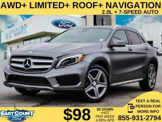 Used 2016 Mercedes-Benz GLA 250 AWD| LIMITED| LOW KM| LEATHER| NAV| ROOF for sale in Scarborough, ON