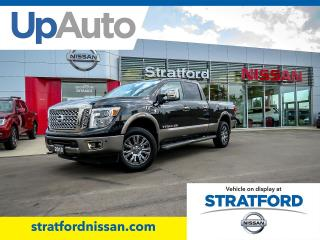 New 2019 Nissan Titan XD DSL CC PLAT for sale in Stratford, ON