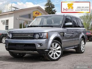 Used 2012 Land Rover Range Rover Sport Supercharged Luxury Drive ,Super Charged for sale in Brandon, MB