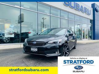 Used 2020 Subaru Impreza Sport-Tech w/ EyeSight for sale in Stratford, ON