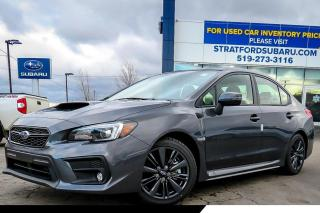 New 2020 Subaru WRX SPORT for sale in Stratford, ON