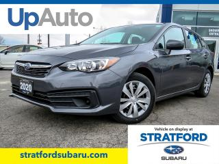 New 2020 Subaru Impreza Convenience w/ Eyesight for sale in Stratford, ON