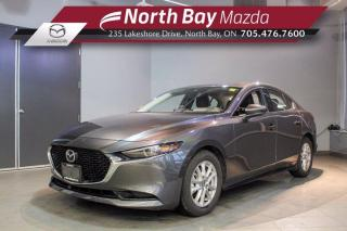 New 2019 Mazda MAZDA3 GT DEMO - Sunroof - Leather - Nav - Heated Steering Wheel for sale in North Bay, ON