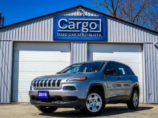 Used 2016 Jeep Cherokee Sport for sale in Stratford, ON