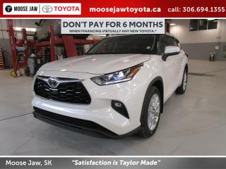 New 2020 Toyota Highlander LIMITED AWD for sale in Moose Jaw, SK