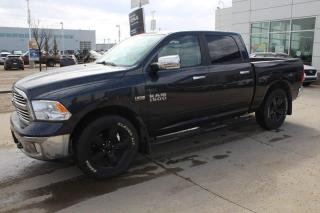 Used 2016 RAM 1500 BIGHORN/CREWCAB/HEMI/BACKUPCAM/HEATEDSEATS/TRAILERBRAKE for sale in Edmonton, AB