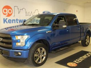 Used 2016 Ford F-150 3 MONTH DEFERRAL!!! | Lariat 502A Pkg | Heated/Cooled Leather Seats | Nav | Sunroof | FX4 for sale in Edmonton, AB