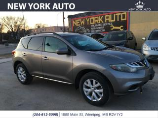 Used 2011 Nissan Murano SL for sale in Winnipeg, MB