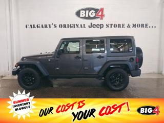 Used 2018 Jeep Wrangler JK Unlimited Sport 4WD for sale in Calgary, AB